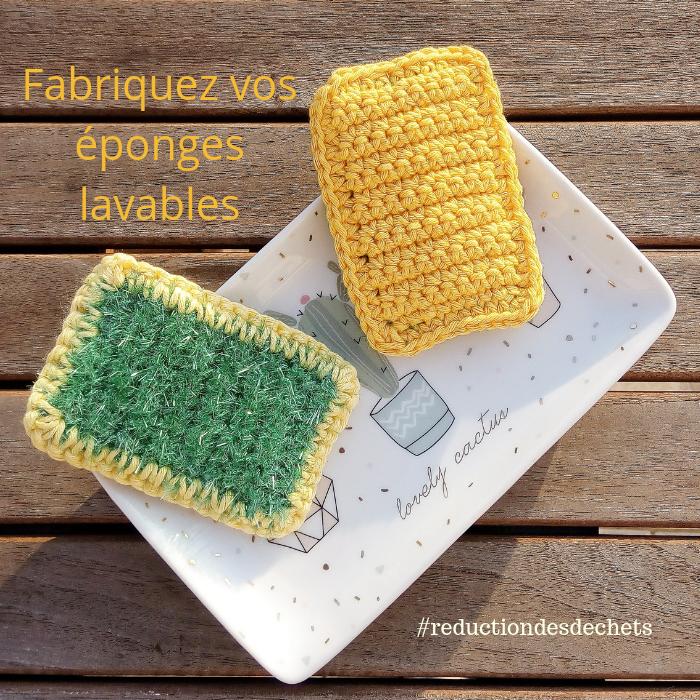 Fabriquez vos éponges lavables